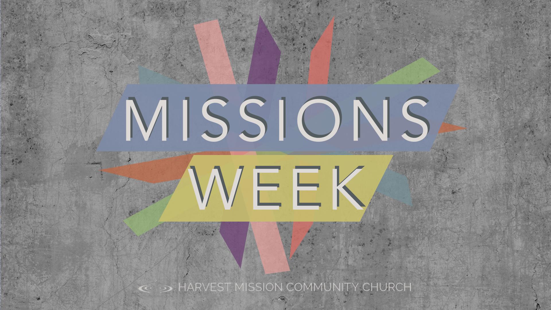 Missional Initiatives Seminar